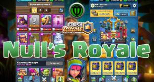 Nulls Royale v.2.0.2 - Server Clash Royale