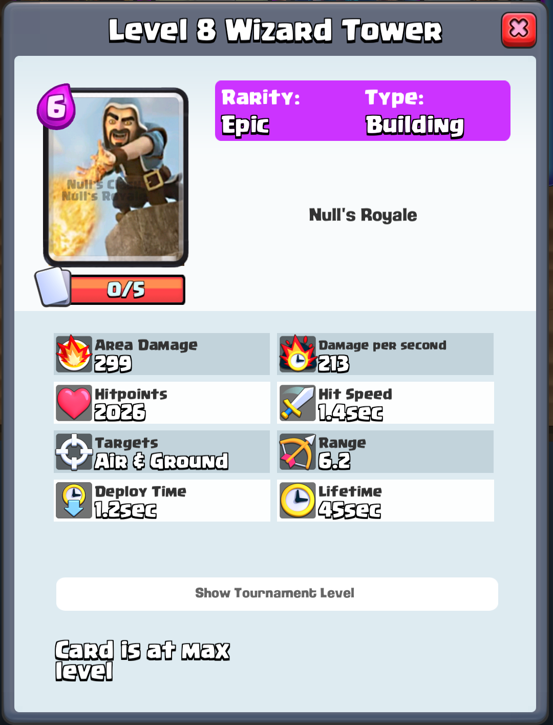 Wizard Tower - Nulls Royale