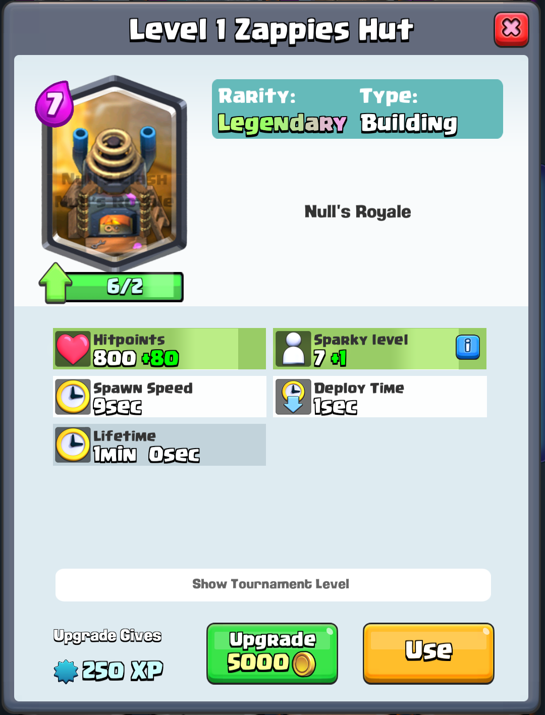 Zappies Hut - Nulls Royale