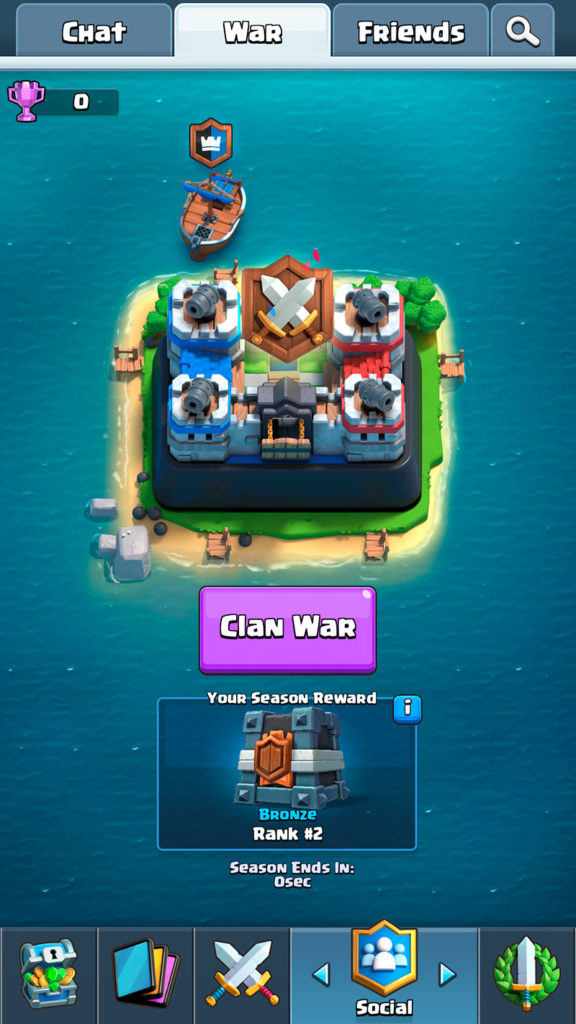 Clan War - Null's Royale