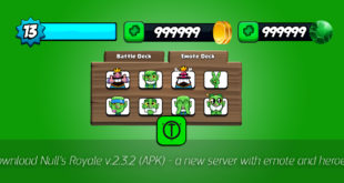 Download Null's Royale v.2.3.2 (APK) — a new server with emote and heroes!