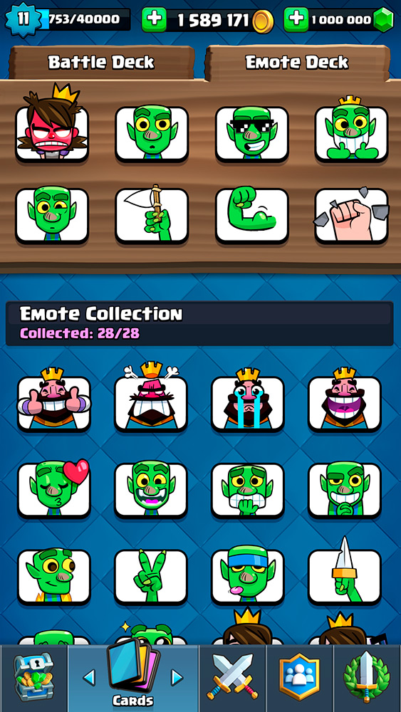 New emote added to the server Nulls Royale 2.3.2